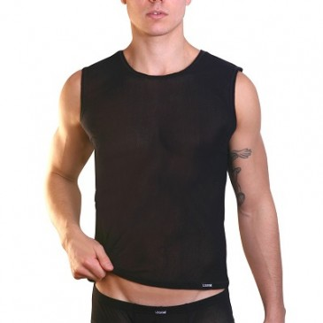 schwarzes Muskel-Shirt Audacious von Look Me