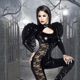 Black Angel Halloween-Kostüm 13578