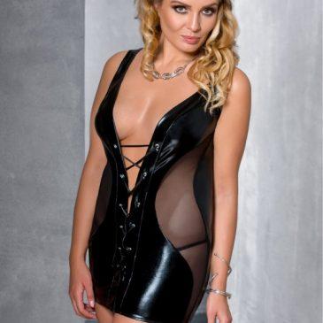 Passion Size Plus PS Donata chemise schwarz