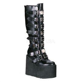 Demonia Swing-815 – Gothic Industrial Punk Mega Plateau Stiefel Schuhe 36-43